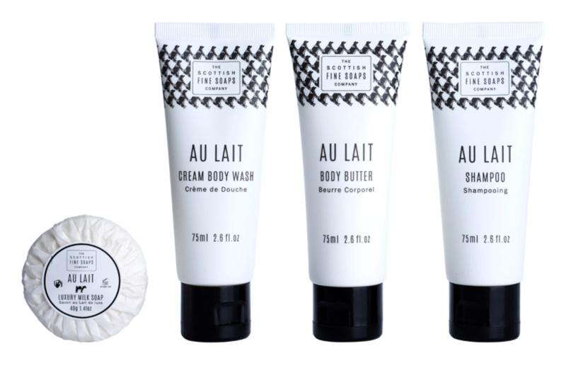 Scottish Fine Soaps Au Lait zestaw kosmetyków I.