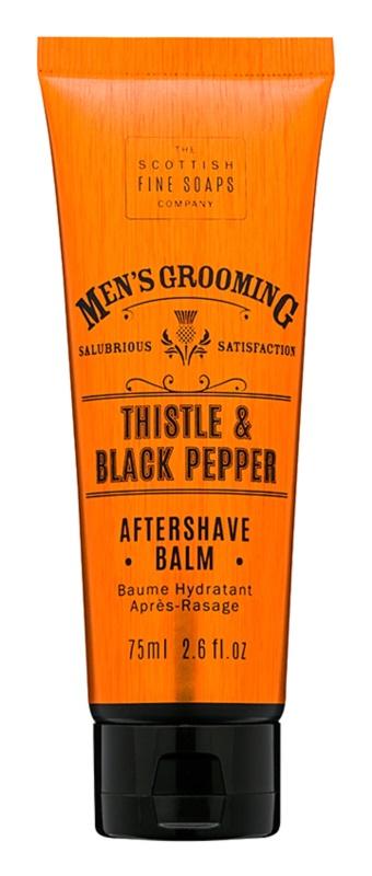 Scottish Fine Soaps Men's Grooming Thistle & Black Pepper balsam po goleniu