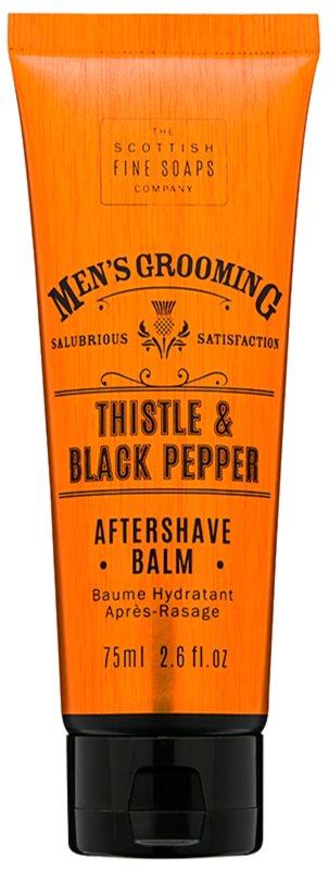 Scottish Fine Soaps Men's Grooming Thistle & Black Pepper balzám po holení
