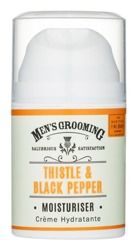 Scottish Fine Soaps Men's Grooming Thistle & Black Pepper Feuchtigkeit spendendes Hautgel