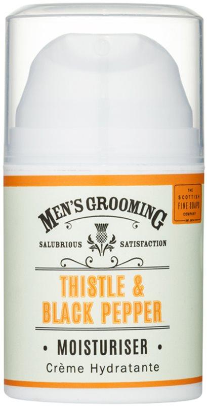 Scottish Fine Soaps Men's Grooming Thistle & Black Pepper hydratační pleťový gel