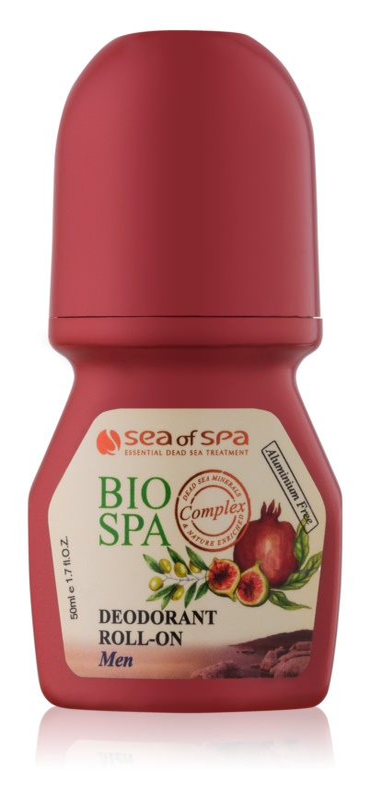 Sea of Spa Bio Spa дезодорант roll-on без вмісту солей алюмінію для чоловіків