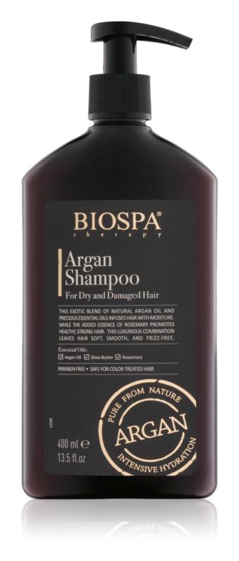 Sea of Spa Bio Spa arganový šampon pro suché a poškozené vlasy