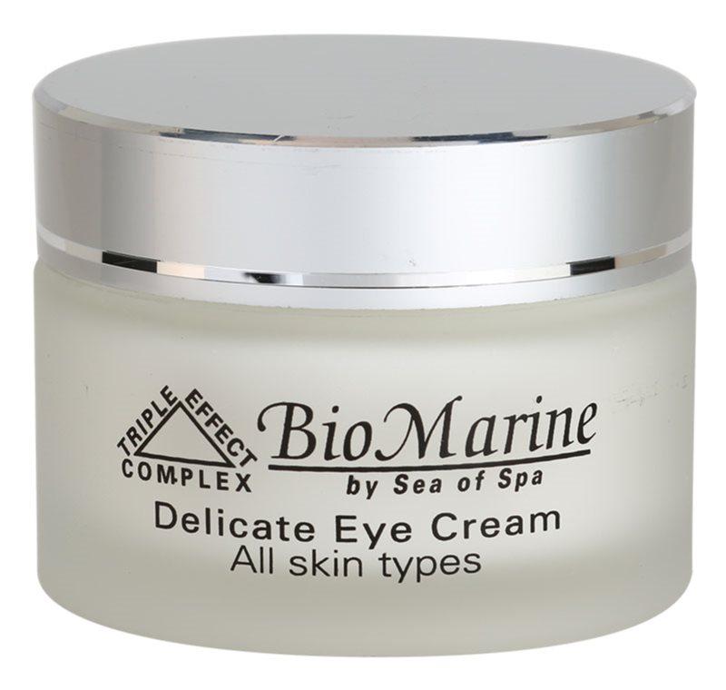 Sea of Spa Bio Marine crema suave para el contorno de ojos  para todo tipo de pieles