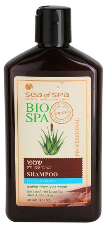 Sea of Spa Bio Spa Shampoo  voor Fijn en Vet Haar