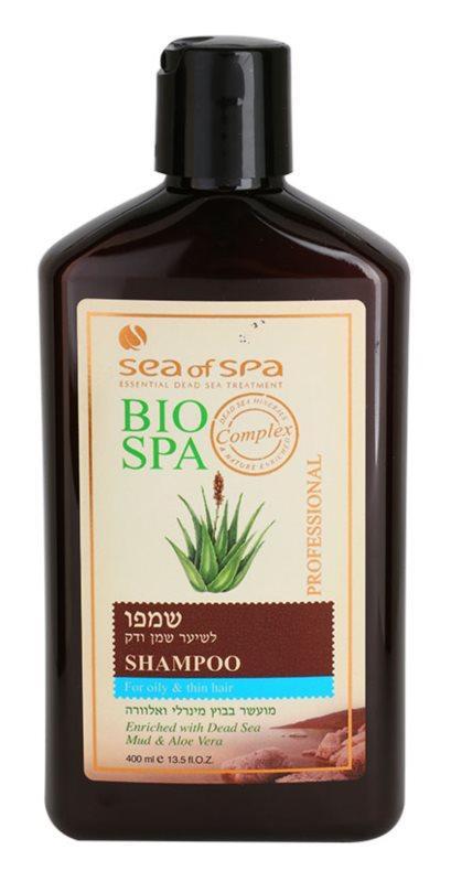 Sea of Spa Bio Spa szampon do włosów delikatnych i tłustych