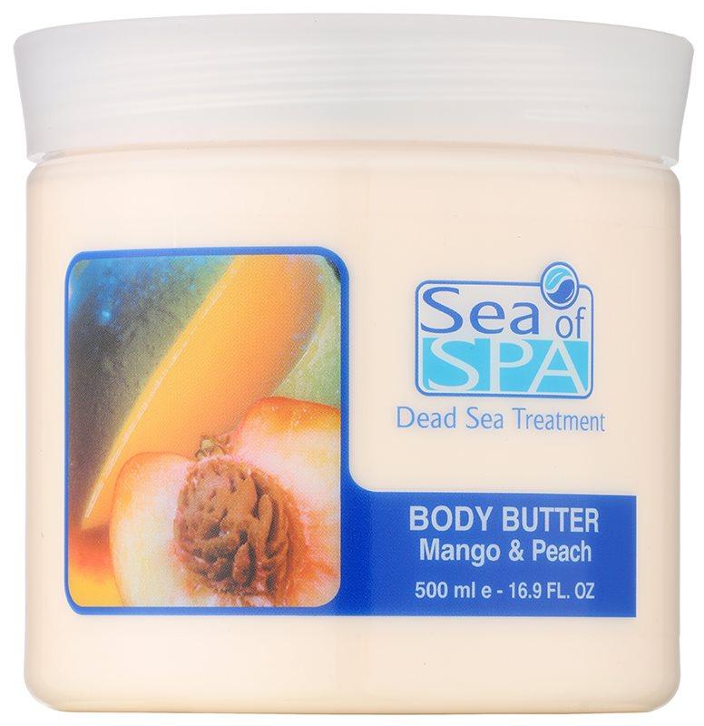 Sea of Spa Dead Sea Treatment масло для тіла з манго та персиком