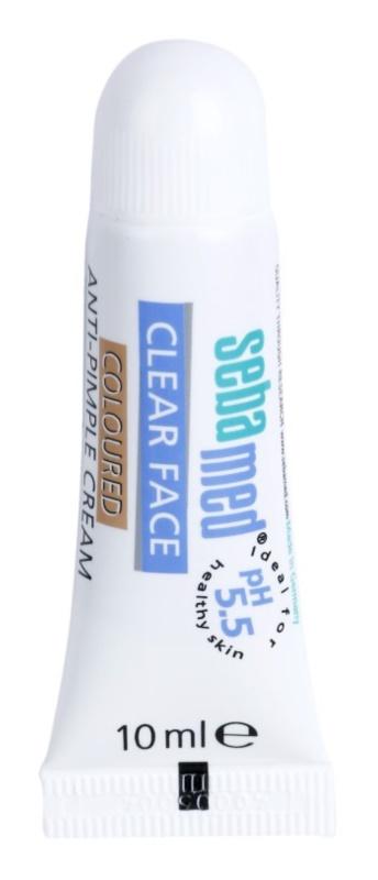 Sebamed Clear Face crema con color anti-acné