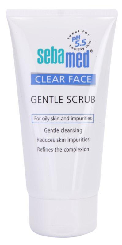Sebamed Clear Face peeling suave de pele