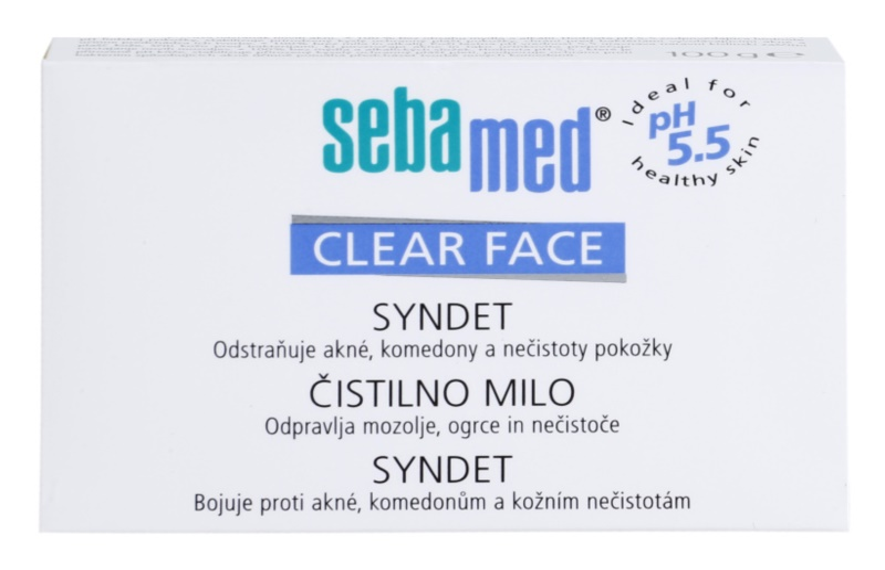 Sebamed Clear Face detergente para pieles problemáticas