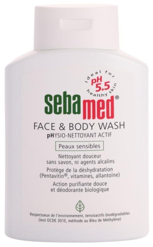 Sebamed Wash jemná mycí emulze na tělo a obličej pro citlivou pokožku