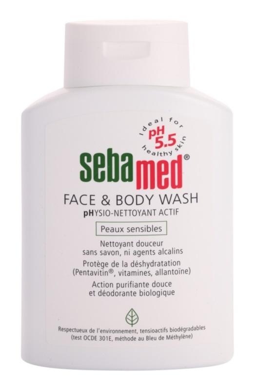 Sebamed Wash sanfte Wasch-Emulsion für Körper und Gesicht für empfindliche Oberhaut
