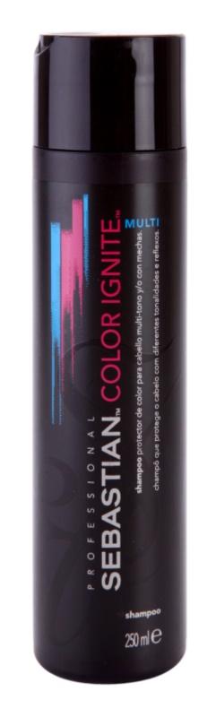 Sebastian Professional Color Ignite Multi шампунь для фарбованого та обробленого хімічним впливом волосся