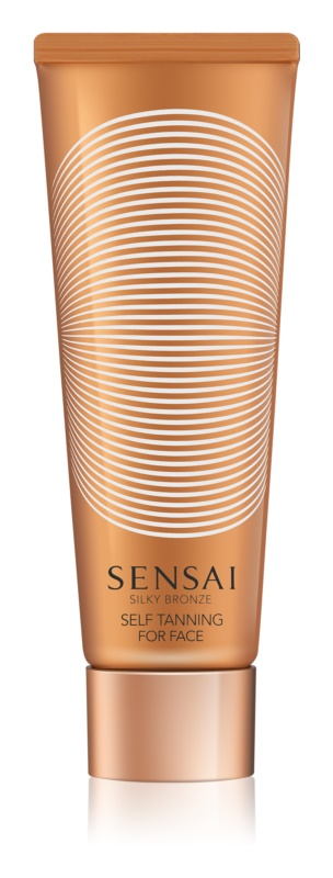 Sensai Silky Bronze samoopalovací gelový krém na obličej