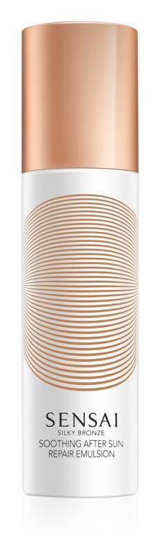 Sensai Silky Bronze заспокоююче молочко  після засмаги для обличчя та тіла