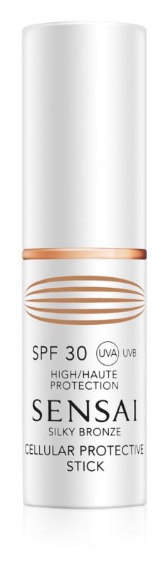 Sensai Silky Bronze Protection Stick For Sensitive Areas SPF30