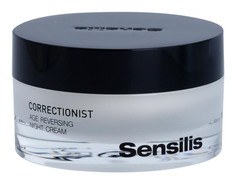 Sensilis Correctionist crema de noche regeneradora  con efecto antiarrugas