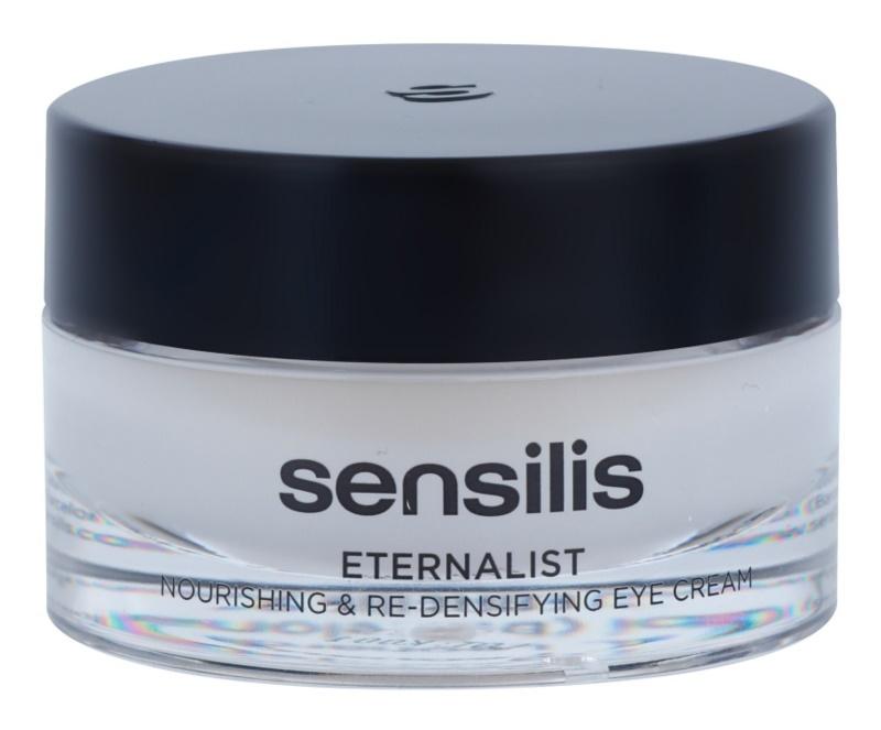 Sensilis Eternalist výživný krém pro obnovu hutnosti pleti v oblasti očního okolí