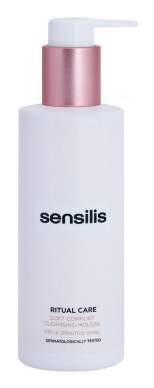 Sensilis Ritual Care tisztító hab száraz és érzékeny bőrre