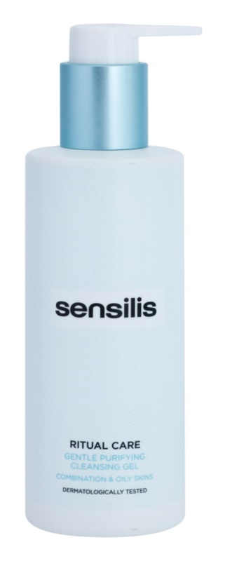 Sensilis Ritual Care sanftes Reinigungsgel für fettige und Mischhaut