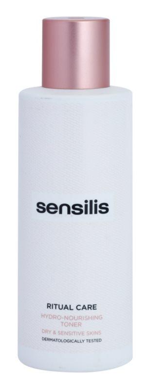 Sensilis Ritual Care tónico hidratante y nutritivo para pieles secas y sensibles