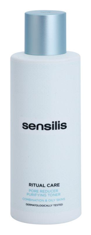 Sensilis Ritual Care čisticí tonikum pro regulaci mazu a minimalizaci pórů