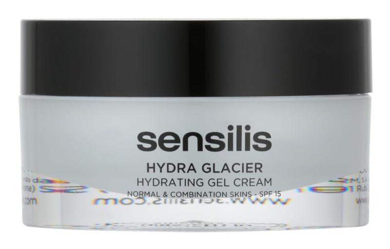 Sensilis Hydra Glacier hydratační gelový krém SPF 15