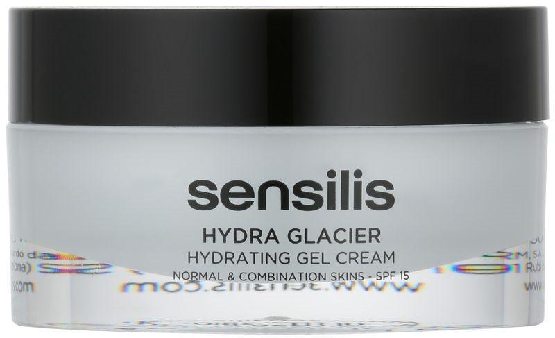 Sensilis Hydra Glacier hydratační gelový krém SPF15