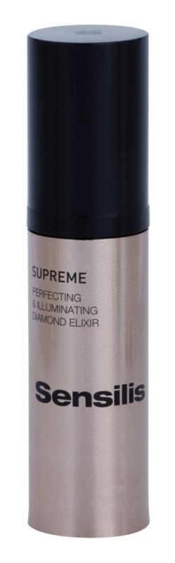 Sensilis Supreme rozjasňující elixír s protivráskovým účinkem pro perfektní vzhled pleti