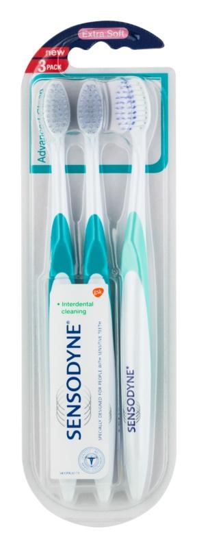 Sensodyne Advanced Clean zubná kefka extra soft pre citlivé zuby