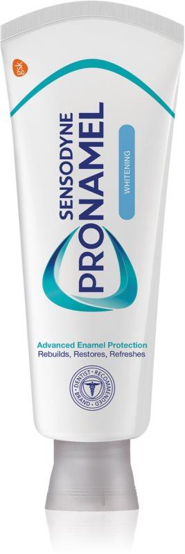 Sensodyne Pro-Schmelz Whitening bleichende Zahnpasta