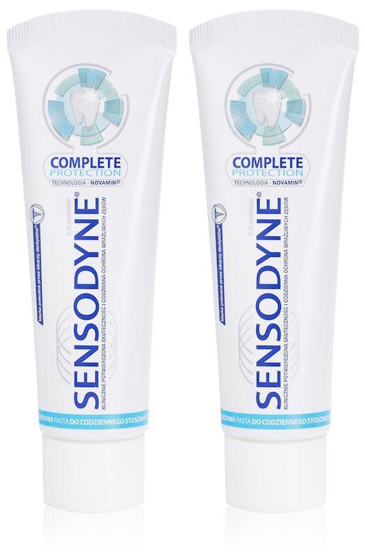 Sensodyne Complete Protection zubná pasta pre kompletnú ochranu zubov
