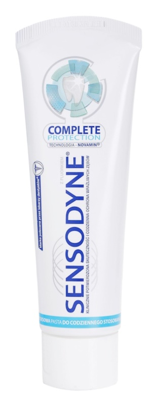 Sensodyne Complete Protection Toothpaste For Complete Protection Of Teeth