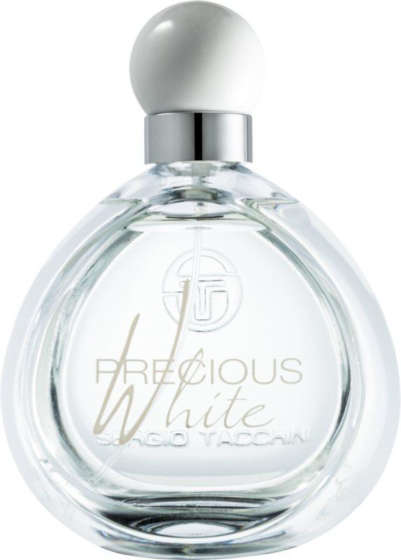 Sergio Tacchini Precious White toaletná voda pre ženy 100 ml