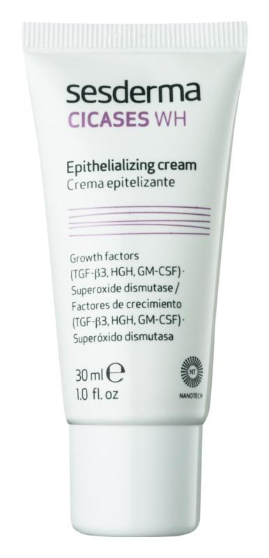 Sesderma Cicases WH crema epitelică pentru regenerarea pielii deteriorate
