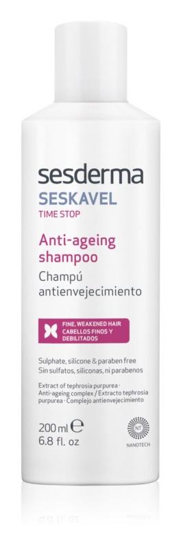 Sesderma Seskavel Time Stop revitalizační šampon proti příznakům stárnutí vlasů