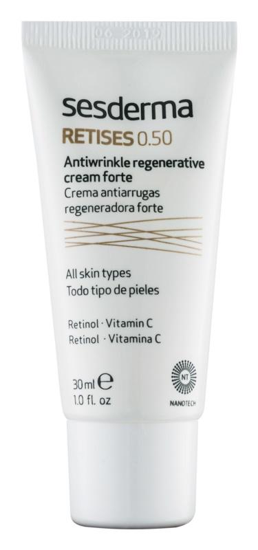 Sesderma Retises intenzivně obnovující krém s retinolem a vitaminem C