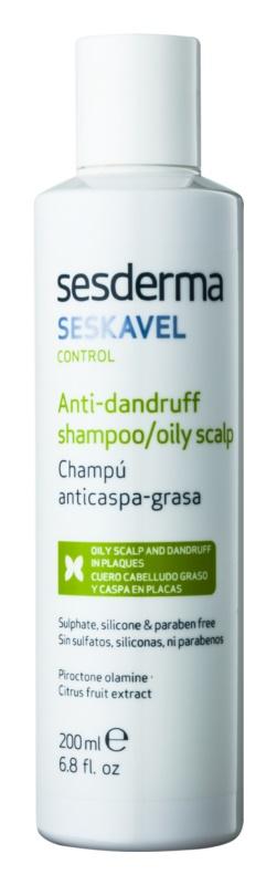 Sesderma Seskavel Control šampon proti prhljaju za mastno lasišče