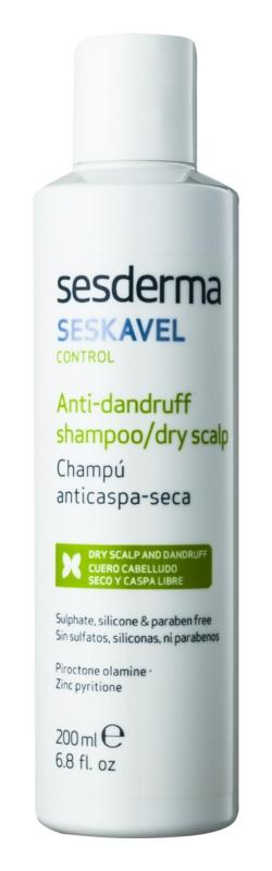 Sesderma Seskavel Control szampon przeciwłupieżowy do suchej i wrażliwej skóry głowy