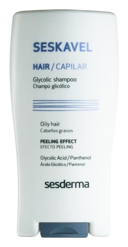 Sesderma Seskavel peelingový šampón pre mastné vlasy