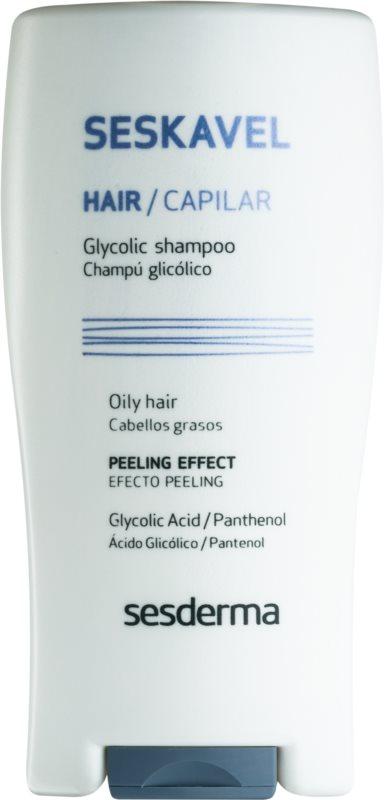 Sesderma Seskavel peelingový šampon pro mastné vlasy