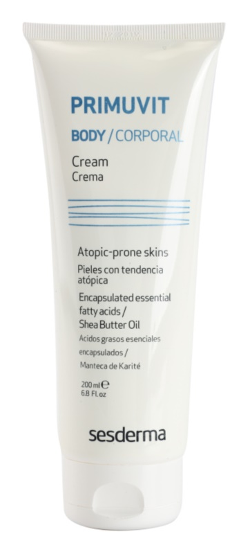 Sesderma Primuvit Moisturizing Body Cream For Atopic Skin