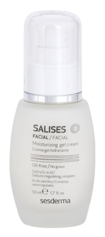 Sesderma Salises gel-crème hydratant pour peaux grasses sujettes à l'acné