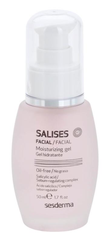 Sesderma Salises gel hidratante para pele oleosa propensa a acne
