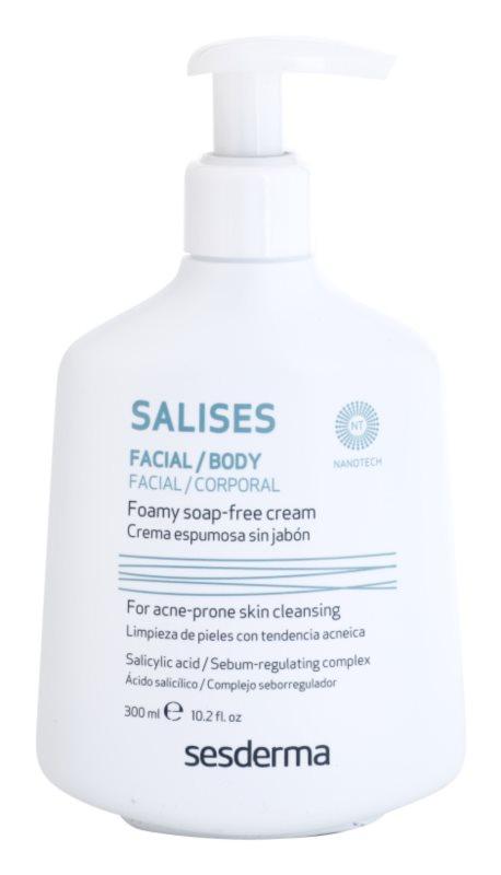 Sesderma Salises antibakteriálny čistiaci gél na tvár a telo
