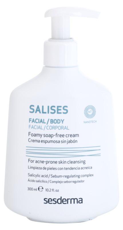 Sesderma Salises oczyszczający żel antybakteryjny do twarzy i ciała