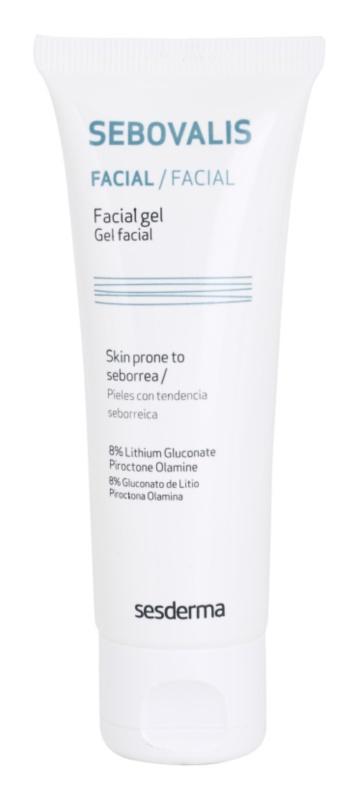 Sesderma Sebovalis protizánětlivý gel pro redukci kožního mazu a minimalizaci pórů