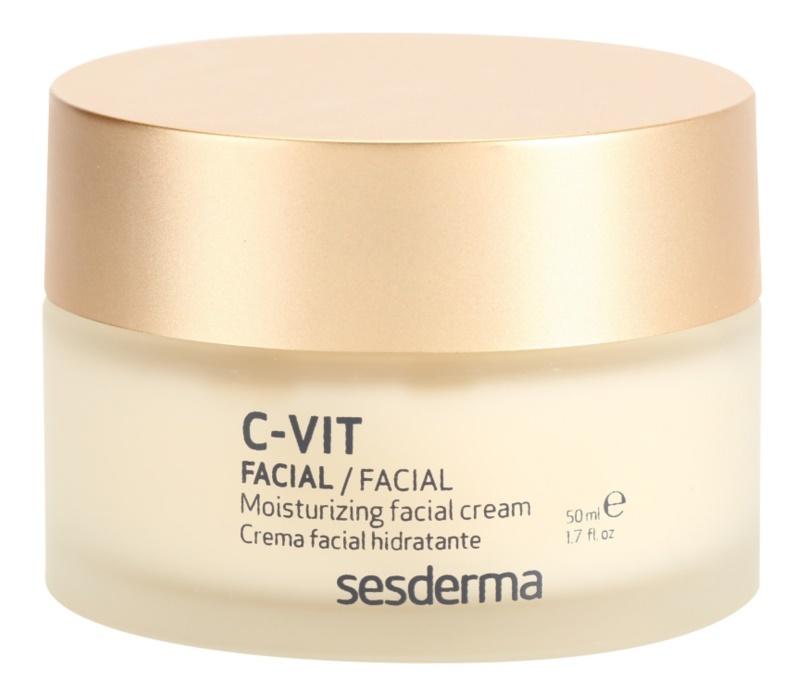 Sesderma C-Vit Moisturizing Facial Cream with Anti-Aging Effect