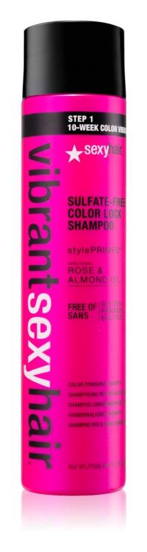 Sexy Hair Vibrant šampon brez sulfatov za barvane lase