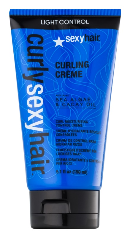 Sexy curly hair products
